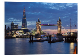 Forex  The Shard and Tower Bridge at night - Stuart Black