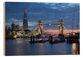 Legno  The Shard and Tower Bridge at night - Stuart Black
