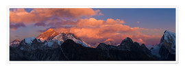 Poster Premium  Sunrise over Tibet
