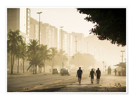 Poster  Copacabana at dawn