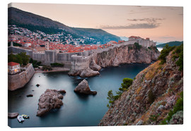 Stampa su tela  Dubrovnik at sunrise - Matthew Williams-Ellis
