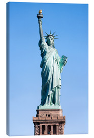 Stampa su tela  Statue of Liberty in New York USA - Jan Christopher Becke
