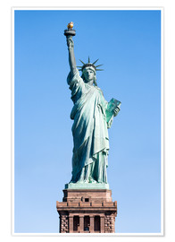 Poster Premium  Statue of Liberty in New York USA - Jan Christopher Becke
