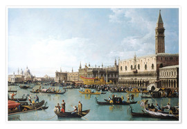 Bernardo Bellotto (Canaletto) - The basin of San Marco on Ascension Day
