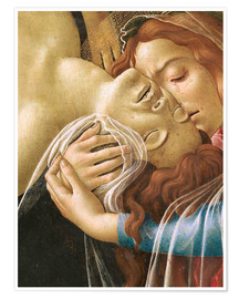 Poster Premium The Lamentation of Christ (detail)