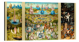 Alluminio Dibond  The Garden of Earthly Delights - Hieronymus Bosch