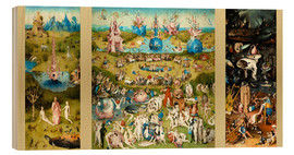 Legno  The Garden of Earthly Delights - Hieronymus Bosch