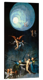 Stampa su alluminio  The Ascent to the Heavenly Paradise - Hieronymus Bosch