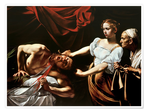 Poster Judith and Holofernes