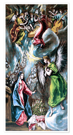 Poster Premium The Annunciation
