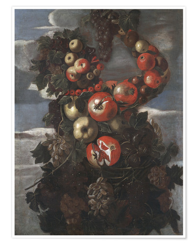 Poster Premium Autumn (An Allegory of the Four Seasons)