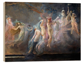 Stampa su legno  The Morning Stars (Les Etoiles du Matin) - Sarah Paxton Ball Dodson