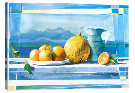 Stampa su tela  Summer refreshment - Franz Heigl