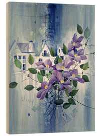 Legno  View with clematis - Franz Heigl