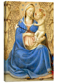 Stampa su tela  Madonna with Child - Fra Angelico