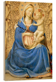Stampa su legno  Madonna with Child - Fra Angelico