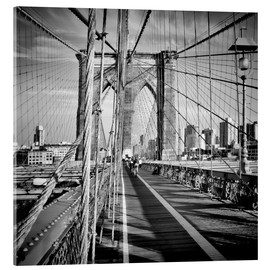 Vetro acrilico  NYC Brooklyn Bridge Flair - Melanie Viola