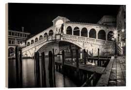 Melanie Viola - VENICE Rialto Bbridge at Night
