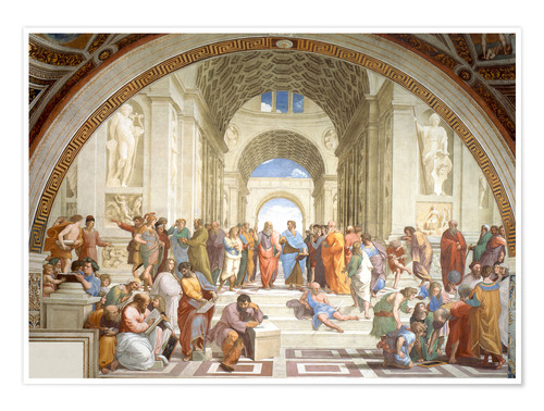 Poster The School of Athens