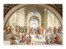 Poster  The School of Athens - Raffael