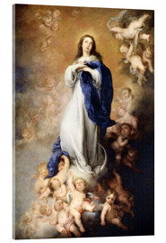 Stampa su vetro acrilico  Immaculate Conception of Mary - Bartolome Esteban Murillo