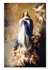 Poster Premium Immaculate Conception of Mary