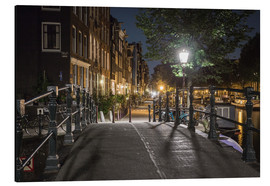 Stampa su alluminio  One night in Amsterdam - Scott McQuaide