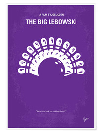 Poster Premium The Big Lebowski