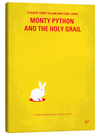 Stampa su tela  No036 My Monty Pyton And The Holy Grail minimal movie poster - chungkong