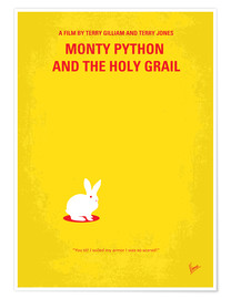 Poster Premium  No036 My Monty Pyton And The Holy Grail minimal movie poster - chungkong