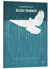 Alluminio Dibond  No011 My Blade Runner minimal movie poster - chungkong