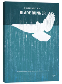 Tela  No011 My Blade Runner minimal movie poster - chungkong