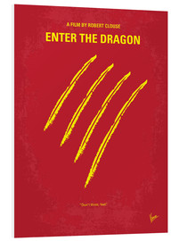 chungkong - No026 My Enter the dragon minimal movie poster