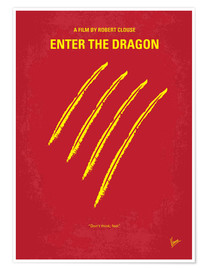 Poster Premium  Enter The Dragon - chungkong