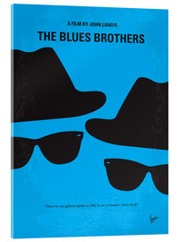 Stampa su vetro acrilico  The Blues Brothers - chungkong