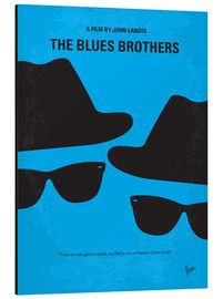 Stampa su alluminio  The Blues Brothers - chungkong