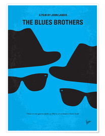 Poster Premium The Blues Brothers