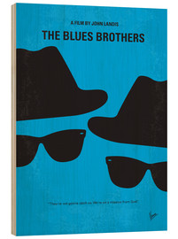 Stampa su legno  The Blues Brothers - chungkong