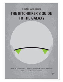 Poster Premium The Hitchhiker's Guide To The Galaxy