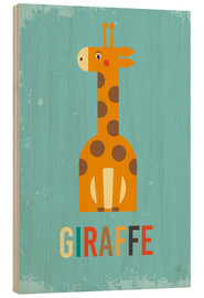 Legno  Baby Giraffe for the nursery - Petit Griffin