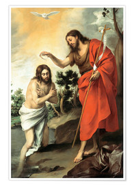 Poster Premium The baptism of christ