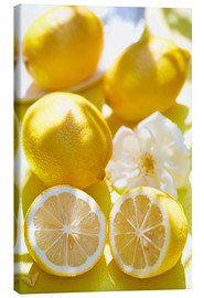 Stampa su tela  Lemon Kick - K&L Food Style