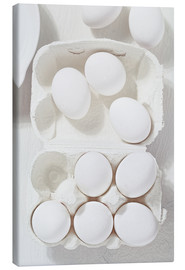 Stampa su tela  egg shell - K&L Food Style