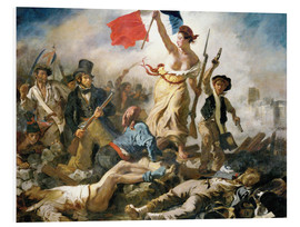 Forex  Liberty leading the people - Eugene Delacroix