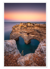 Poster Premium  Heart of the Algarve (Praia da Marinha / Portugal) - Dirk Wiemer