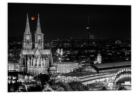 Forex  Blutmond over the Cologne Cathedral - rclassen
