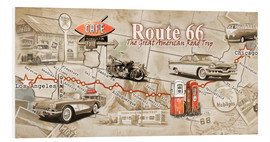 Forex  Route 66 Map - Georg Huber