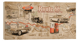 Legno  Route 66 Map - Georg Huber