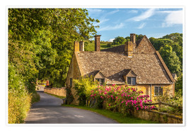 Poster Premium Cottage in the Cotswolds (England)