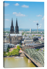 Stampa su tela  Cologne Cathedral (Cathedral of St. Peter) - rclassen